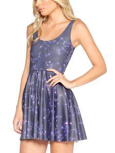 Written in the Stars Scoop Skater Dress