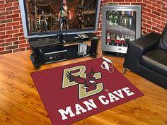 "Man Cave All-Star Rug (34""x45"") - Boston College"