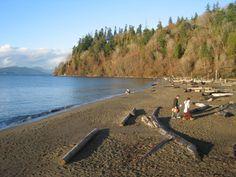 5. Beach scene: Wreck Beach, Vancouver, BC