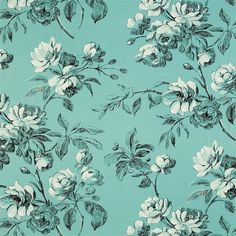watelet - turquoise fabric | Designers Guild