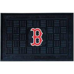MLB Boston Red Sox Medallion Door Mat, Black