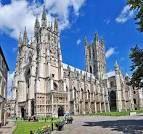 Catedral de Canterbury en Inglaterra. Arquitectura gótica.