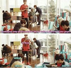 """Hey Short People!"" Yes Baekhyun, That Is Correct. 