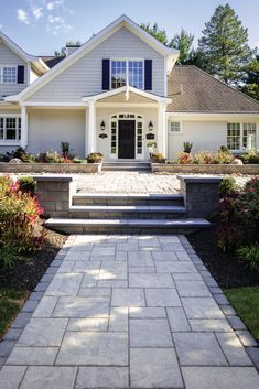 Achieve the perfect landscape design with the pavers. Great for driveways, walkways, pool decks and patios! Backyard Patio, Backyard Landscaping, Wedding Backyard, Pergola Patio, Landscaping Ideas, Pergola Shade, Paver Walkway, Walkways, Diy Paver