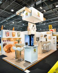 Van der Pol / Sial Food Stands, Exhibition Stands, Booth Design, Trade Show, Museums, Van, Inspiration, Stand Design, Creativity