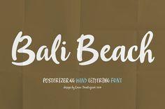 Bali Beach by Posterizer KG on @creativemarket