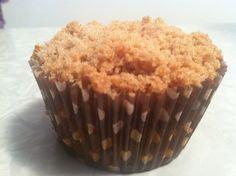 Gluten Free Pumpkin Muffins with strusel crumb topping yumm!