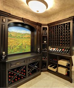 Ciematic | offers free design for classical wine racking according to your demands.