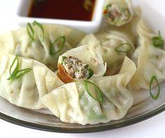 pan fried gyoza (japanese dumplings)