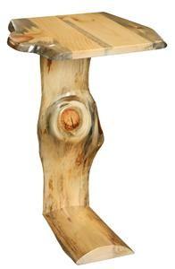 Etonnant Amish Log Furniture Pine Sofa Server