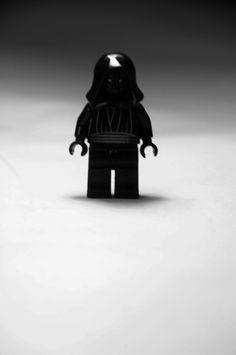 Vader.  Vader e esse lado sombrio.  Edição: Fotografia e Photoshop.