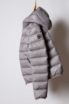 piumino mid grey, light down jacket Goose Feel