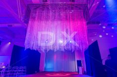 Opening Event Giant Custom Chandelier by DX Design