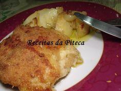 Receita Filetes de peixe gato panados com queijo no forno, de Receitasdapiteca - Petitchef