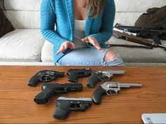 *I  need to watch this* Selecting a First Handgun (woman's perspective)