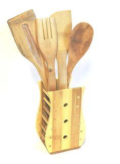 Alessi AJM19S5 L Cutlery Kitchen Set 5 Pcs Mirror Polished Italian Import