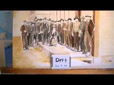 Brian Barkey Historical Painting Day 4