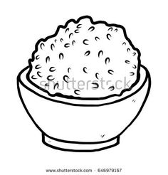 rice coloring pages for kids | Free Printable Soup Coloring Page | Soups | Pinterest ...