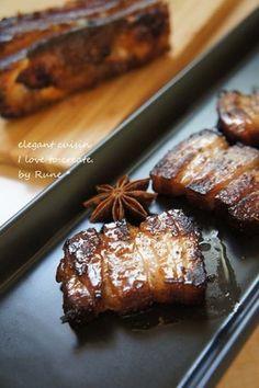 ブランディー三枚ばら肉のチャーチュー風|レシピブログ