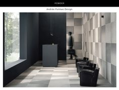 'Powder' floor wall tile by Julian Tile... so cool!