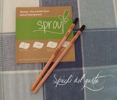 Spicchi del gusto: La matita che germoglia!!!