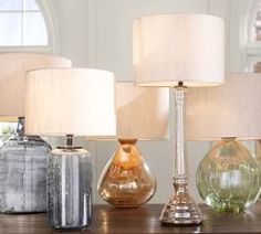 Style POP: Lamps of different shapes and colors is a quick way to update the look of any room.