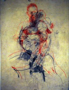 Exclusive Photo Feature: Jenny Saville Drawing At The Ashmolean Museum