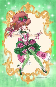 Rococo Sailor Jupiter by aimeekitty on deviantART