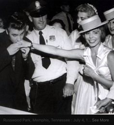July 4, 1956 Memphis Tennessee concert for charity
