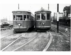#TrolleyTuesday - Tillary Street loop -Flatbush Ave Trolley Line Brooklyn NY