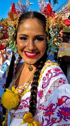 Panama...beautiful culture.