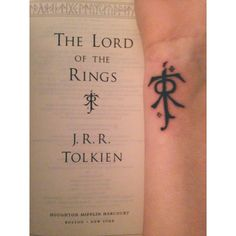 My Lord of The Rings tattoo