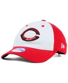 New Era Cincinnati Reds Glimmer 9TWENTY Kids' Cap or Toddlers' Cap