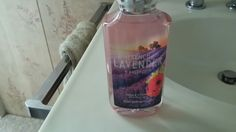 French Lavender Honey body wash from Bath and Body Works