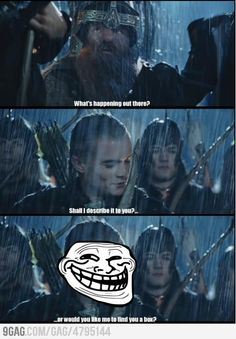 Legolas being awesome