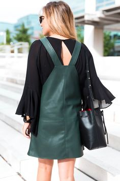 Bell sleeved top is a must have this fall!