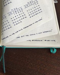 Quotes: I love collecting quotes and instead of a page or section dedicated to them I've decided to start adding them to the bottom of my pages. #bulletjournal #leuchtturm1917 #ellisorganized