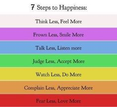 steps to happiness :))