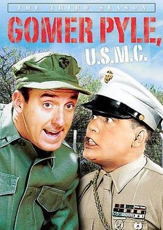 """This spin-off of THE ANDY GRIFFITH SHOW featured beloved mechanic Gomer Pyle entering the Marine Corps. Jim Nabors played Pyle, resurrecting the character's catchphrases, including """"Surprise, surprise"""