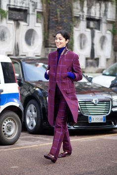 Milan street style - dapper lady | Man Repeller