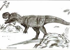 Monolophosaurus jiangi by ~Teratophoneus