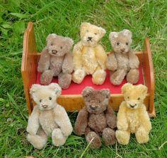 OLD TEDDY BEAR SHOP - HOME PAGE | oldteddybearshop.co.uk Old Teddy Bears, Vintage Teddy Bears, Teddy Bear Shop, Teddy Hermann, Love Bear, Vintage Dolls, Childhood, Puppies, Rag Dolls