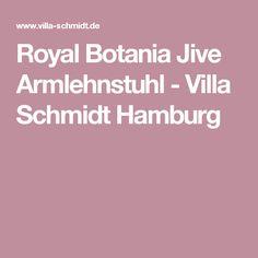 Royal Botania Jive Armlehnstuhl - Villa Schmidt Hamburg