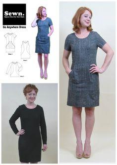 Sewn go anywhere dress