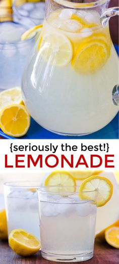 Lemonade Recipe How to make the best homemade lemonade! Lemonade is so refreshing and timeless. You won't believe how easy it is to make with just 2 ingredients! Once you try homemade lemonade, it will spoil you forever. Fresh Lemonade Recipe, Best Lemonade, Homemade Lemonade Recipes, Fresh Squeezed Lemonade, Lemon Recipes, Healthy Lemonade, Lemonade From Lemon Juice, Homeade Lemonade, Sparkling Lemonade