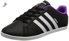 Adidas - VS Coneo QT W - B74551 - Color: Black-Violet-White - Size: 9.0 - Adidas sneakers for women (*Amazon Partner-Link)