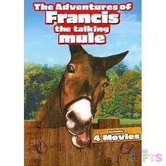 ADVENTURES OF FRANCIS THE TALKING MULE (DVD/2DISCS/FF/SNAP CASE W/SLIP SLEE