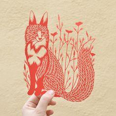 foxandpoppies_1_1 by bird mafia, via Flickr