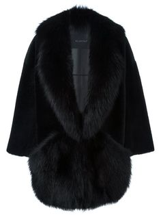 Shop Blancha cocoon fur coat in Tiziana Fausti from the world's best independent boutiques at farfetch.com. Shop 400 boutiques at one address.