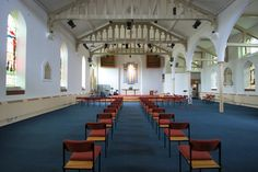 Interior of the Church of St Thomas, Crookes by Dave Hitchborne, via Geograph